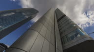 Frankfurt am Main - Silberturm / Skyper / Deutsche Bahn Tower - Timelapse - super wide angle - Zoom