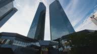 T/L Frankfurt am Main - timelapse at the Deutsche Bank Tower