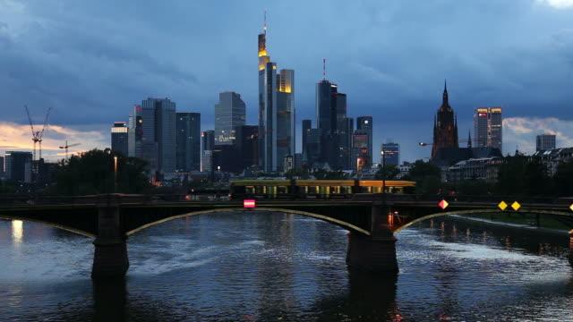 Frankfurt dusk