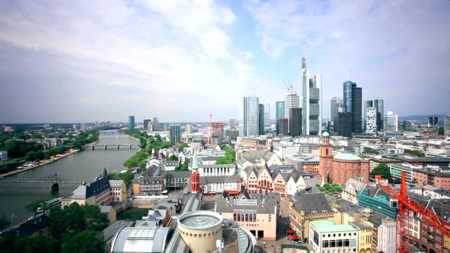 Frankfurt Panorama, Time Lapse