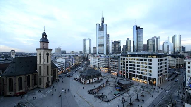 Frankfurt Skyline Downtown
