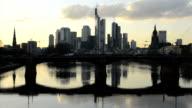 Frankfurt Skyline Time Lapse HD