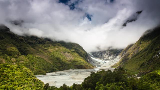 TIME LAPSE: Franz Josef Glacier New Zealand