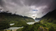 TIME LAPSE: Franz Josef Glacier Valley in New Zealand