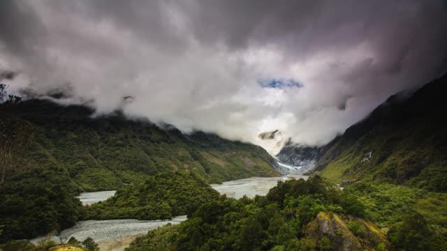 TIME LAPSE: Franz Josef Glacier Valley in New Zealand