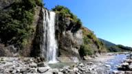 Franz Josef Glacier Waterfall, New Zealand