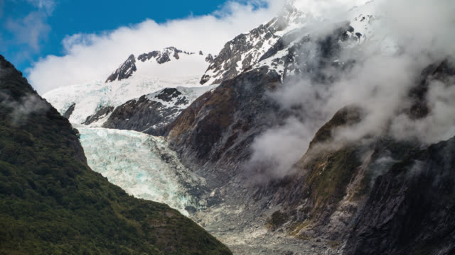 TIME LAPSE: Franz Joseph Glacier