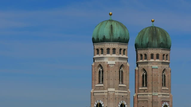 Frauenkirche towers, Munich, Bavaria, Germany, Europe