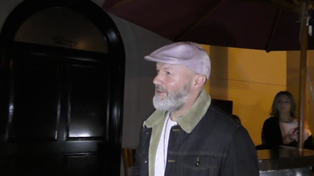 Fred Durst films the paparazzi at Craigs in West Hollywood in Celebrity Sightings in Los Angeles