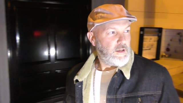 Fred Durst leaves dinner at Craigs in West Hollywood in Celebrity Sightings in Los Angeles