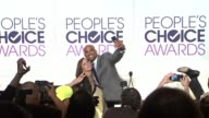 Fred Nelson Boris Kodjoe Jamie Chung Wilmer Valderrama Molly Shannon Jordana Brewster at the 2017 People's Choice Awards Nominations Announcement at...