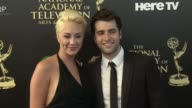 Freddie Smith and Alyssa Tabit at the 2014 Daytime Emmy Awards at The Beverly Hilton Hotel on June 22 2014 in Beverly Hills California