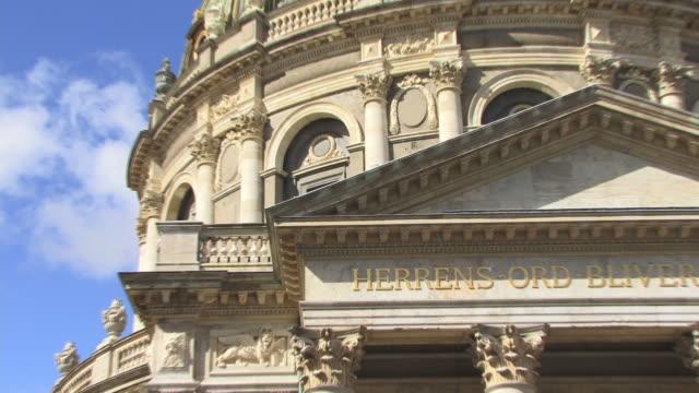 CU, ZO, LA, Frederik's Church, Copenhagen, Denmark