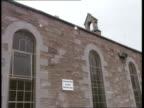Free Presbyterian Church in Scotland **Music heard SOT** Singing coming from inside church Church