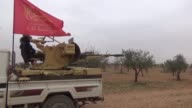 Free Syrian Army liberates two villages from terrorist PYG/PKK in Bab district of Aleppo on March 01 2017 Muhammed Khatib field commander of FSA...