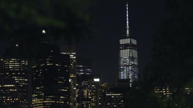 Freedom Tower - establishing shot