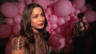 INTERVIEW Freida Pinto on how excited she was to hear that Alice Olivia were coming out with an eyewear line talks about her favorite style at Alice...