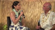 INTERVIEW Freida Pinto receives award at the 2017 Maui Film Festival on June 22 2017 in Wailea Hawaii