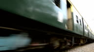 Freight & Passenger train Crossing