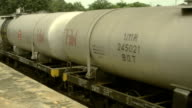 Freight Train Oil Tankers Cars.