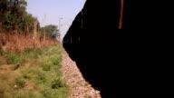 Freight Train silhouette