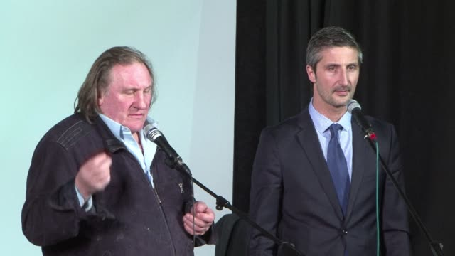 French actor Gerard Depardieu on Friday toured Moscows Bolshoi Theatre and inaugurated the newly restored Cinema Illusion a mythic cinema in the...