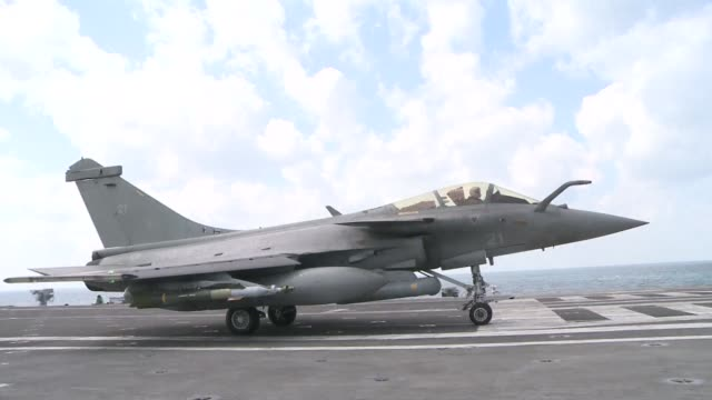 A French aircraft carrier launched on Monday its first mission over Iraq as Paris stepped up its participation in the US led military campaign...