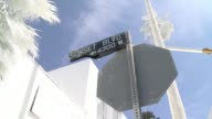 French artist Vincent Lamouroux took over an old motel on Sunset Boulevard in Los Angeles and painted it and the surrounding palm trees white