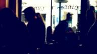 HD-Zeitraffer französischen Café San Francisco