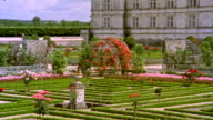 French Chateau and Garden