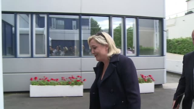 French far right party the National Front says there have been voting irregularities in some of the polling stations for the European elections