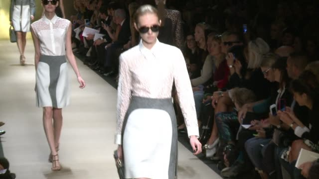 French fashion house Guy Laroche shows its Spring Summer 2015 collections during Paris fashion week