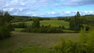 French field near Saint Emilion