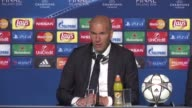 French football legend Zinedine Zidane became just the seventh man to win the Champions League as a player and a coach after Real Madrid beat...