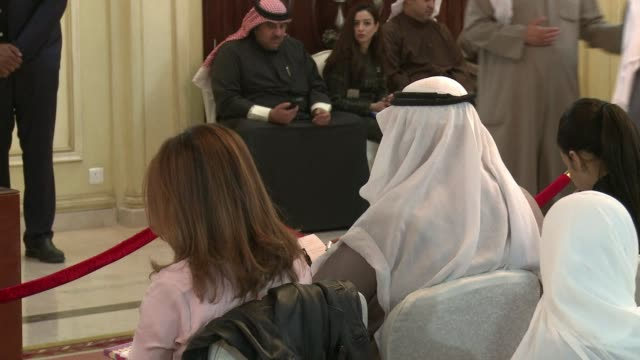 French Foreign Minister Laurent Fabius held a press confrenece with his Kuwaiti counterpart Sheikh Sabah al Khaled al Sabah at Kuwaits foreign...