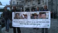French hostages' relatives march overnight in Paris to mark the third year of their captivity in the Sahel region CLEAN Families of French hostages...