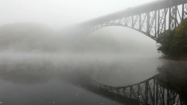 French King Bridge in the Pioneer Valley region of Massachusetts