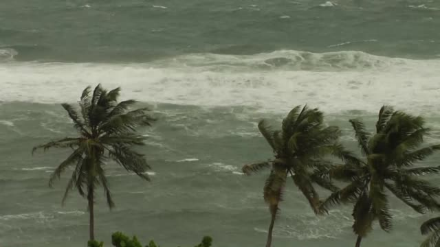 French Martinique islanders have been ordered to stay indoors Monday as a maximum level violet alert went into force in the island bracing for the...