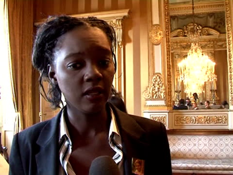 French minister for human rights Rama Yade called on Iranian authorities to release imprisoned NGO worker Sylva Hartounian Paris Paris France