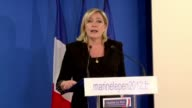 French National Front leader Marine Le Pen who came third in the first round of French elections says Nicolas Sarkozy only has himself to blame for...