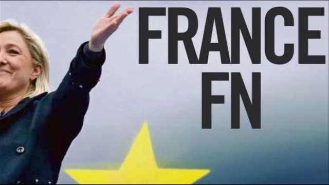 French newspapers cover the countrys political earthquake after the far right National Front topped the polls in European elections by winning the...