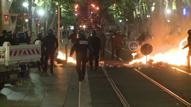French police arrested at least 74 people overnight Friday after rioting and looting erupted following Algerias historic qualification for the second...