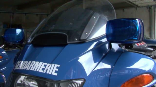 Französische Polizeimotorrad