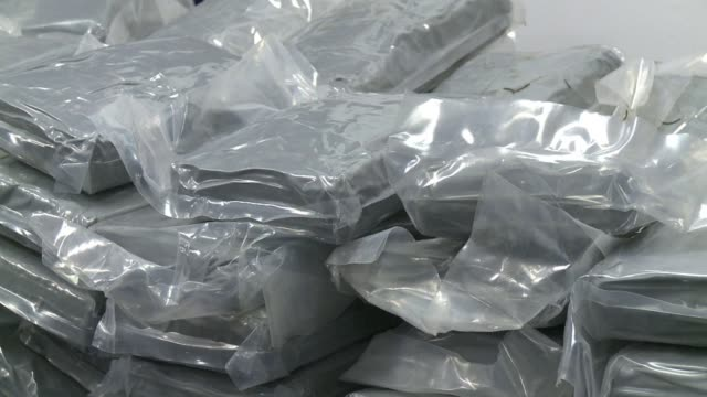 French police said Friday they had seized a record 14 tonnes of cocaine and four people had been arrested in a severe blow to an international drug...