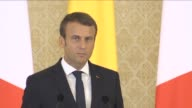 French President Emmanuel Macron at a press conference with his Romanian counterpart in Bucharest said that he isn't opposed to Romania joining the...