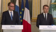 French President Emmanuel Macron notes advances and openings in British Prime Minister Theresa May's highly anticipated Brexit speech in which she...