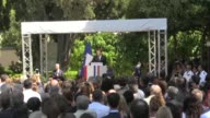 French President Emmanuel Macron speaks of his hope to reconstruct Europe on a visit to the French school in Athens whilst also sparing a thought for...