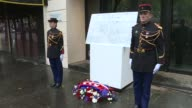 French President Francois Hollande and Paris Mayor Anne Hidalgo began commemorations for the first anniversary of the Paris attacks by unveiling...