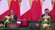 French President Francois Hollande said Monday that Chinese support was essential to reaching an effective deal at the forthcoming climate change...