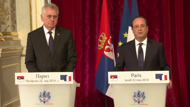 French President Francois Hollande says that France could host a donors conference for the Balkans that have been hit by devastating floods killing...